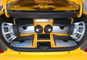 Мощность акустики автомобиля