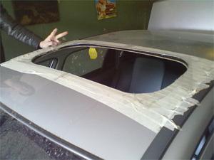 Как правильно установить люк на крышу автомобиля