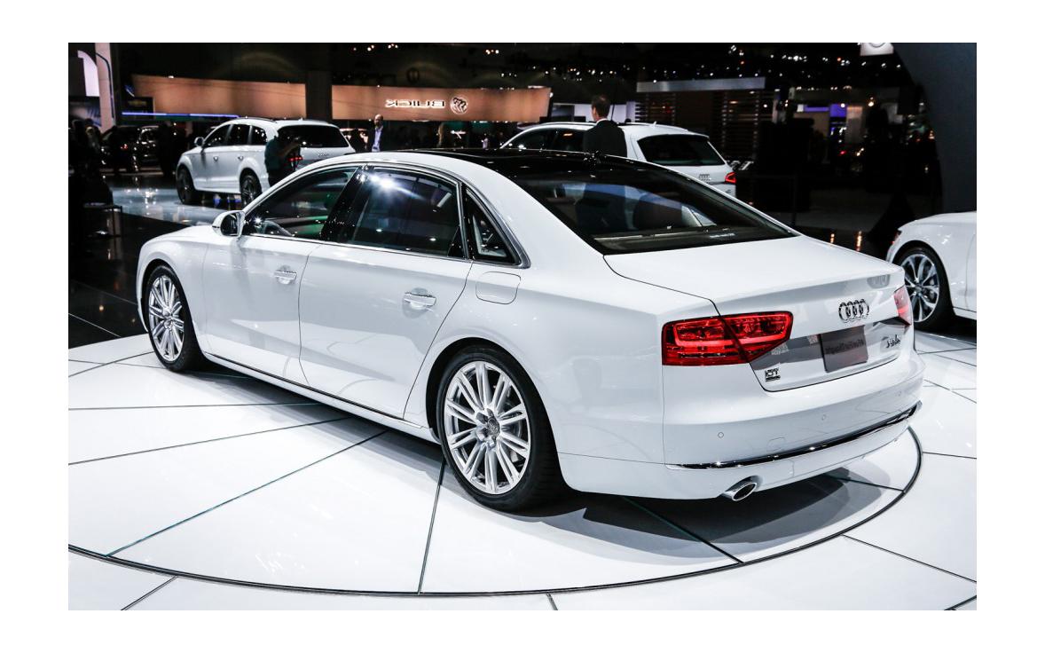 Компания Audi представила новинку - Audi A8 2014 года