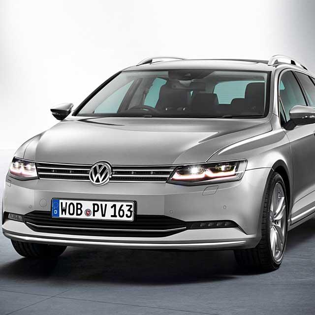 Приятный внешний вид Volkswagen Passat B8