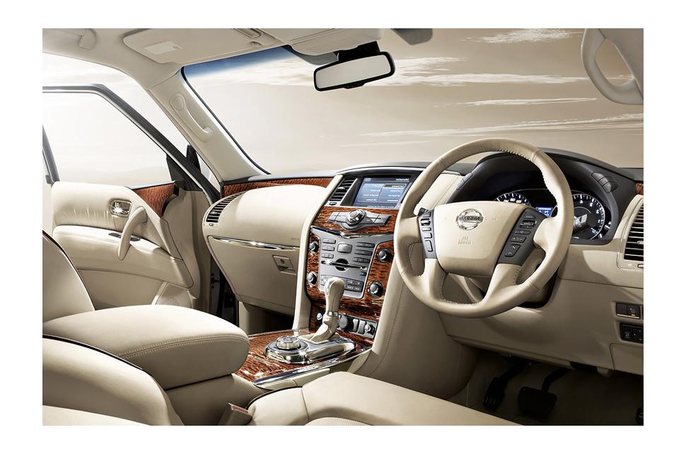 Новый внедорожник Nissan Patrol 2014