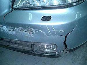 Как отремонтировать бампер автомобиля?