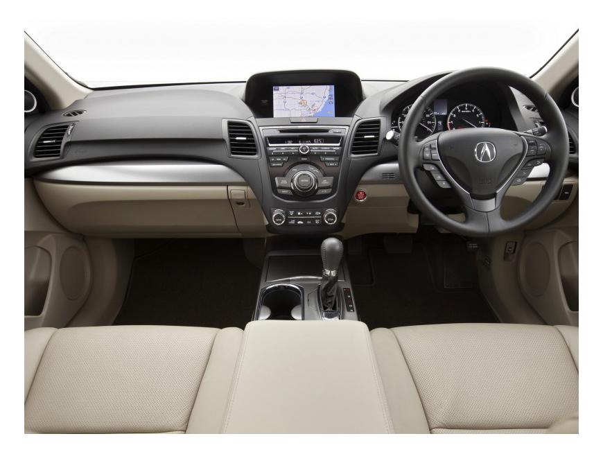 Самая ожидаемая новинка 2014 - Acura RDX