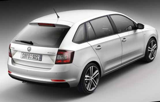 Skoda Rapid sport hatch 2014