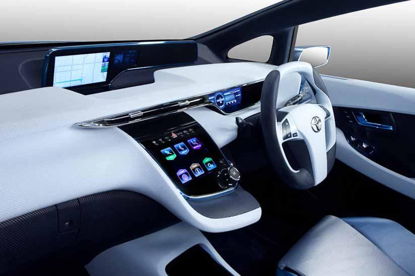 Toyota выпустила новый серийный авто ToyotaFCV на водородном топливе
