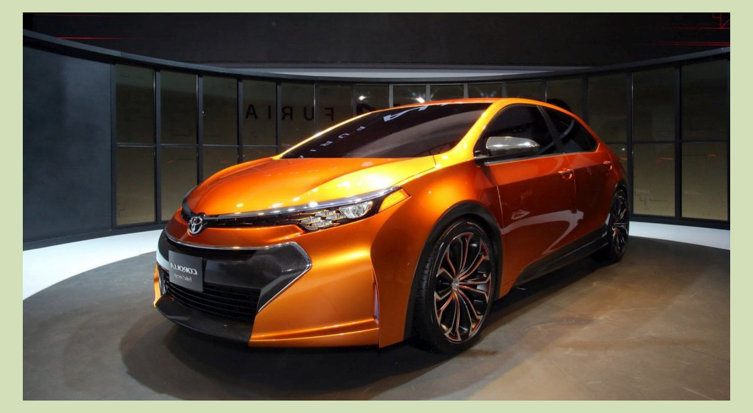 Концепт Toyota Corolla 2014 Furia