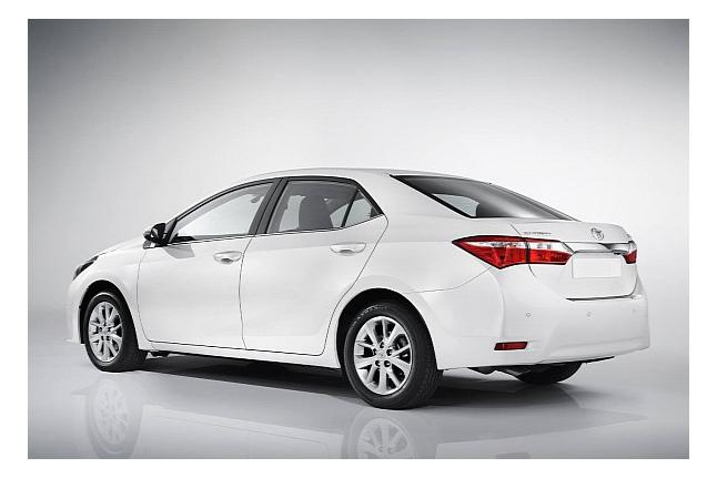 Toyota продемонстрировала Corolla 2014 для Европы