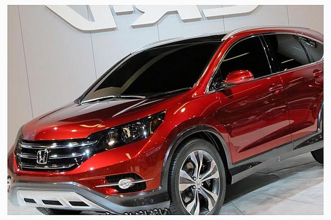 Компания Honda представила для российского рынка стоимость обновленного кроссовера CR-V