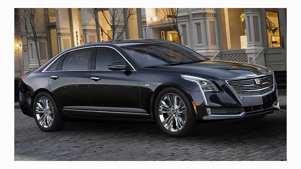 Cadillac начинает продажи нового седана CT6