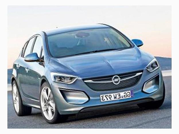 Усовершенствованный Opel Astra