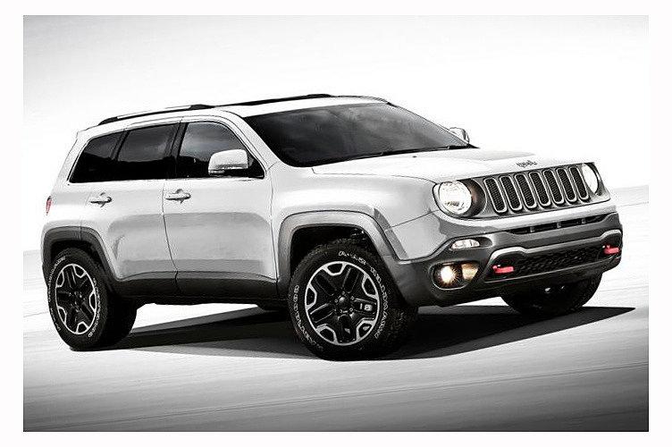 Jeep планирует показать новую компактную модель кроссовера