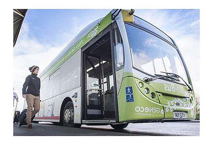 Необычный автобус Bio-Bus