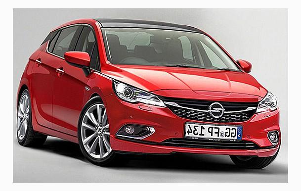 новый Opel Astra