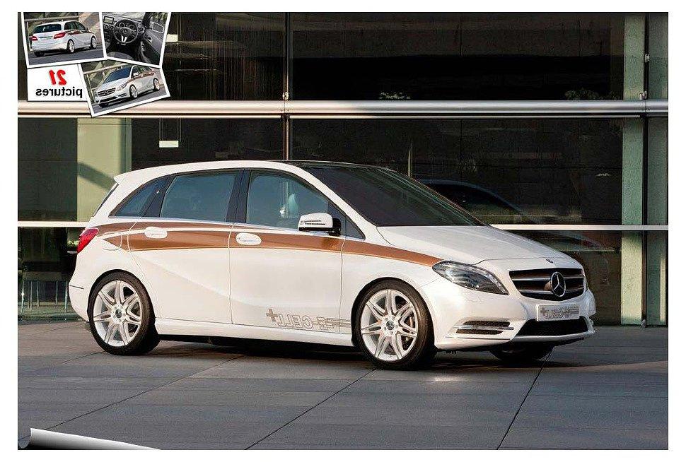 Mercedes начал производство электрокара B-Class 2014 года.
