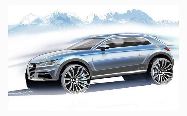 Осенью компания Audi представит электромобиль кроссовер