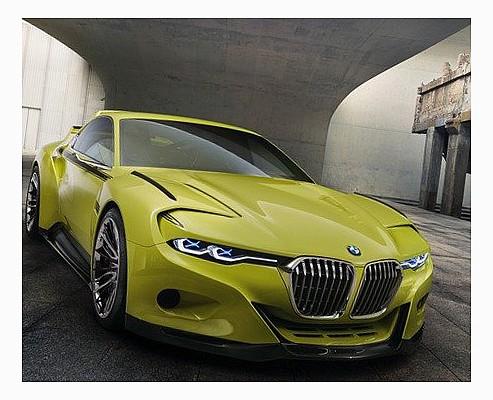 Новый BMW в стиле семидесятых