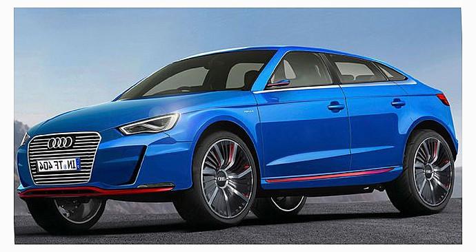 Audi представит электромобиль кроссовер