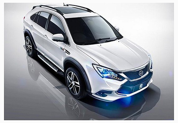 новый Tang SUV