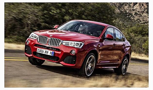 выпуск баварцами BMW X4
