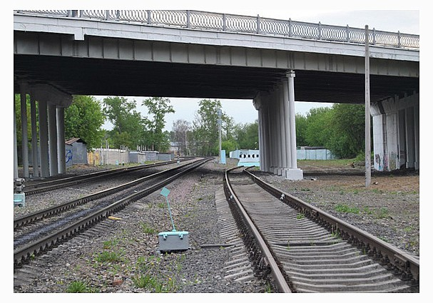 платный путепровод над железной дорогой уже не за горами