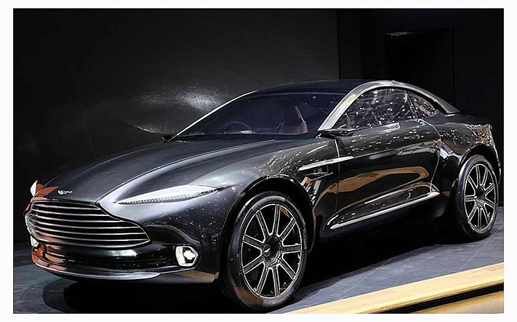 выход кроссоверов от Aston Martin 2015