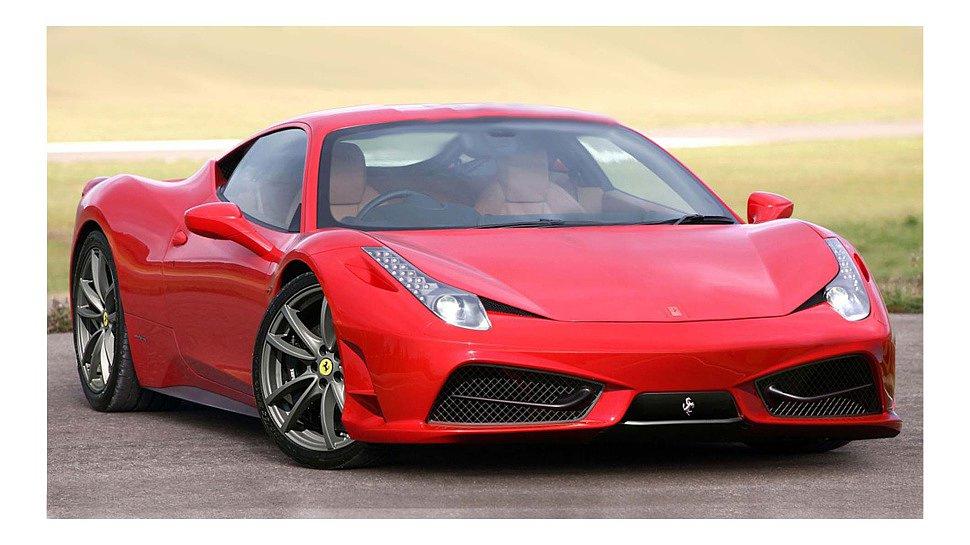Новые Ferrari