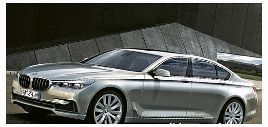 В Интернете всплыли подлинные фотографии BMW 7-й