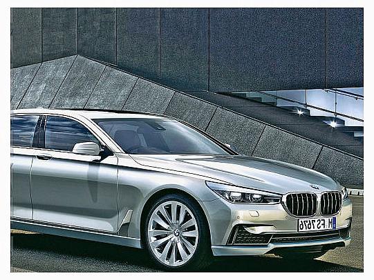 фотографии BMW 7-й серии 2015
