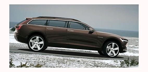 Новая модель универсала Volvo V90 будет показана уже в феврале