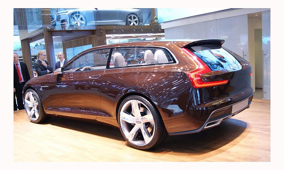 универсала Volvo V90 уже в феврале