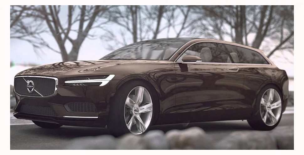 Новая модель Volvo V90 будет показана