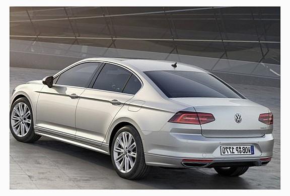 В сентябре на продажи в России поступит новый VW Passat