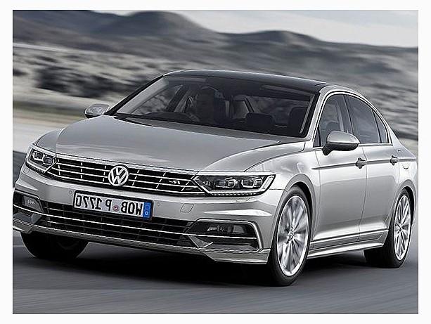 новый VW Passat 2015-2016 гг