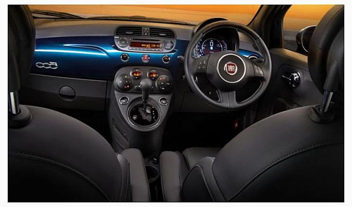 Fiat 500 2015 года
