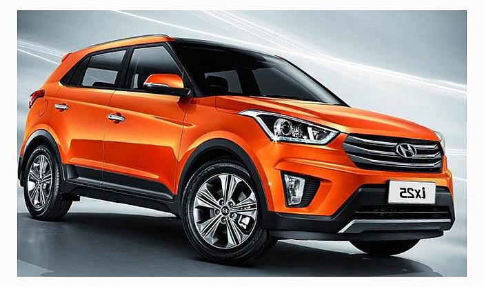 Скетчи нового кроссовера Hyundai Creta впечатляют поклонников фирмы
