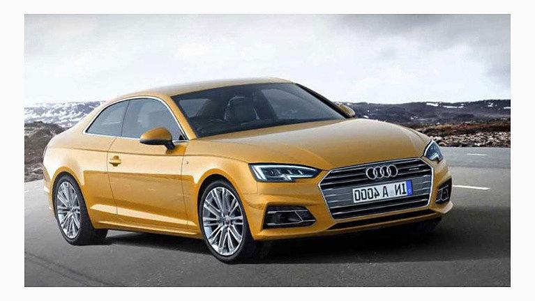 Audi A5 появится на рынке в 2017 году