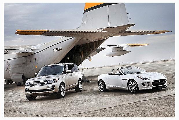 Jaguar Land Rover на доргогах России