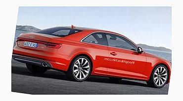 Audi A5 2017 году