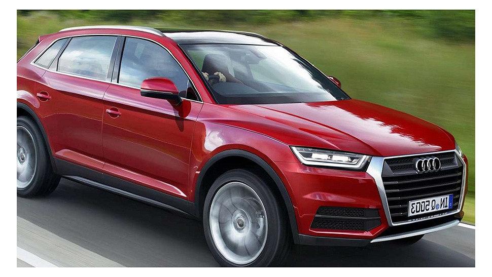 Q5 Audi на дорогах европы