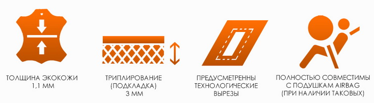 Чехлы сидений KIA Ceed от 2012 хэтчбек и универсал авточехлы экокожа