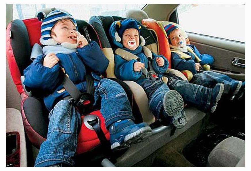 детские кресла автомобильные их особенности