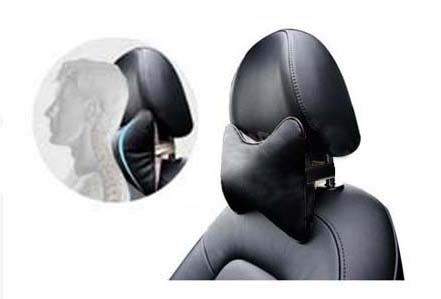 Автомобильная подушка подголовник на сиденье