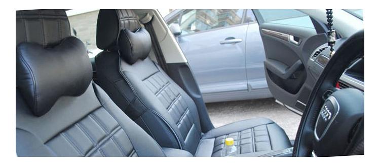 Ортопредическая подушка подголовник - как она смотрится в машине на сиденье